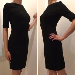 NEW Topshop Black Jersey Bodycon Sheath Dress 4/6